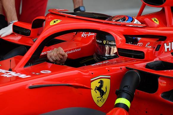 Kimi Raikkonen Ferrari mirror