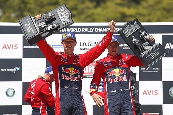 Sebastien Ogier Citroen Rally Turkey WRC 2019