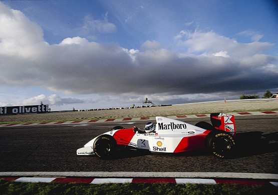 Mika Hakkinen 1993 McLaren Portugal Estoril