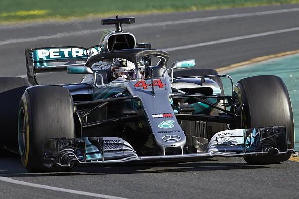 Lewis Hamilton Mercedes Australian Grand Prix 2018