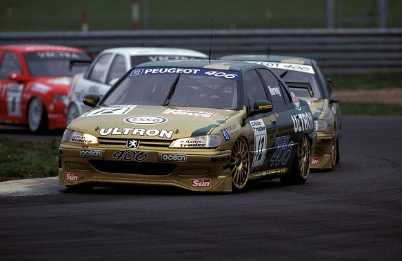 Tim Harvey Peugeot BTCC 1997