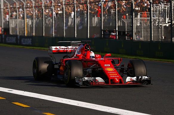 Sebastian Vettel Ferrari Australian GP 2017