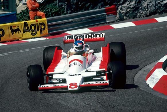 Patrick Tambay 1979 Monaco McLaren M8