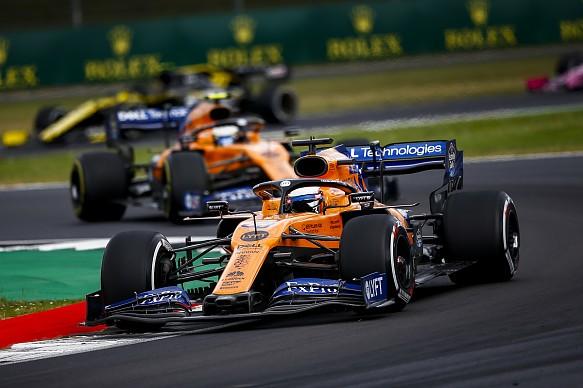 Sainz McLaren British GP 2019