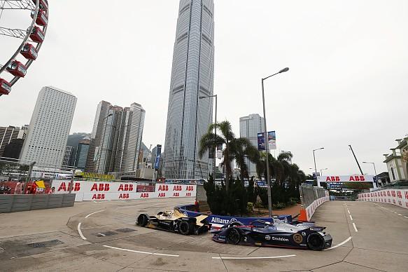 Andre Lotterer Sam Bird FE Hong Kong 2019