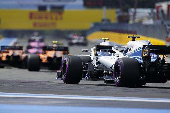 Stroll Sirotkin Williams French Grand Prix 2018