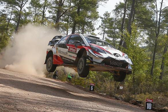 Ott Tanak Toyota WRC Turkey 2018