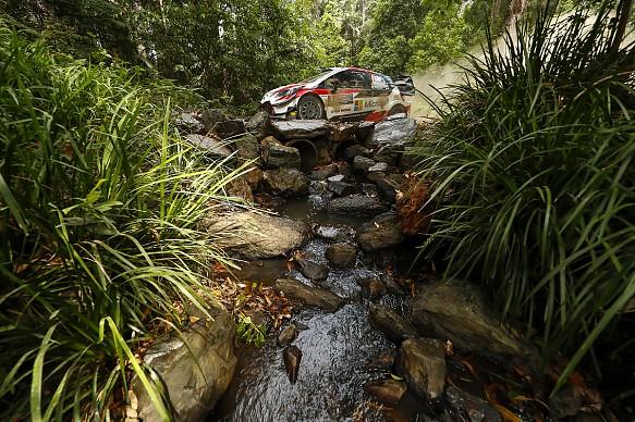 Jari-Matti Latvala Toyota WRC Australia 2018