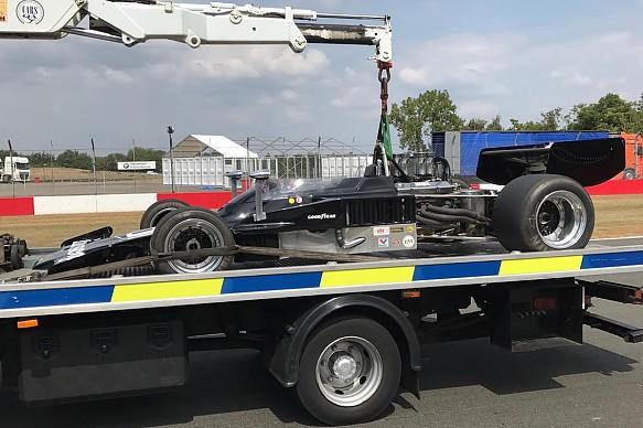 Ben Anderson Lola T332 F5000 Donington 2018 Ebrey