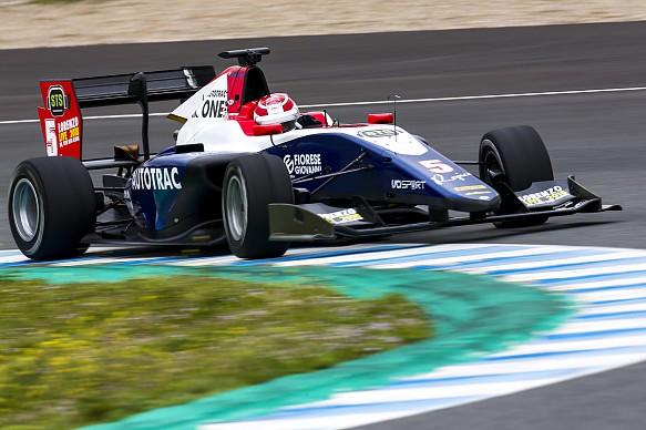 Pedro Piquet Trident GP3 testing 2018