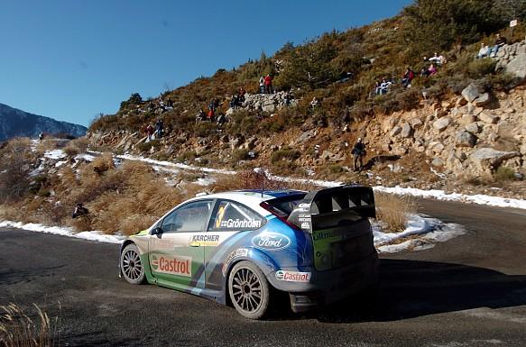 Marcus Gronholm 2006 WRC Monte Carlo Rally