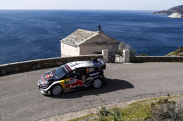 Sebastien Ogier M-Sport Ford WRC Rally Corsica 2018