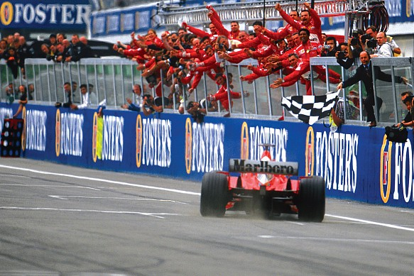 Michael Schumacher 2003 San Marino Grand Prix