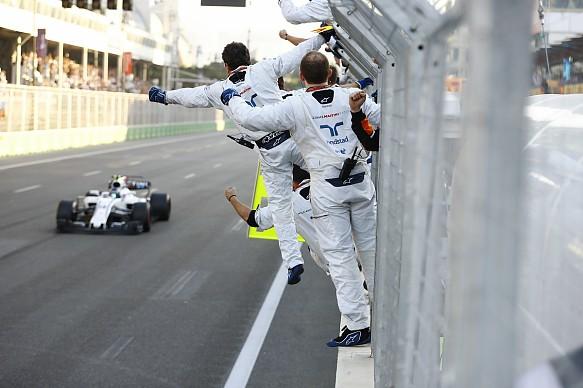 Lance Stroll Williams Azerbaijan Grand Prix 2017