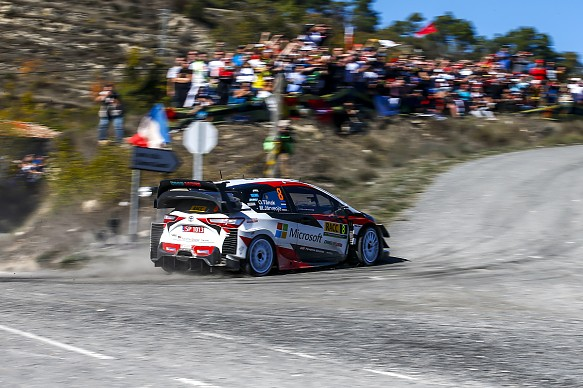 Ott Tanak Toyota Rally Spain WRC 2019