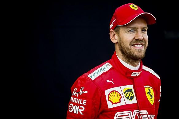 Sebastian Vettel Ferrari 2019 Melbourne