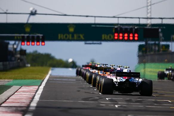 Hungarian Grand Prix 2018 start