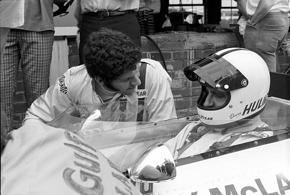 Jody Scheckter Denny Hulme 1973 Kyalami