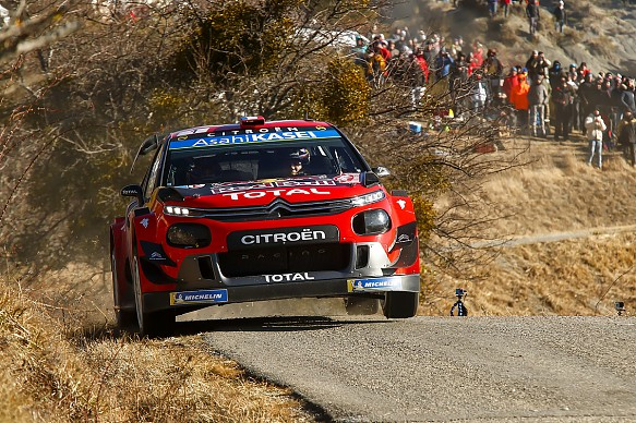 Sebastien Ogier Citroen WRC Monte Carlo 2019