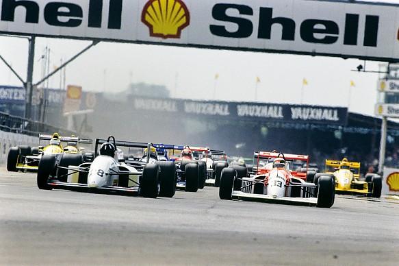 Silverstone 1990 Damon Hill Allan McNish F3000