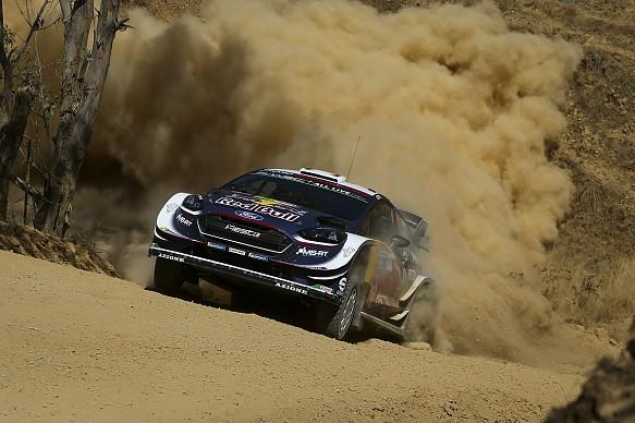 Sebastien Ogier M-Sport WRC Rally Mexico 2018