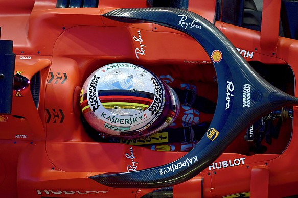 Vettel Ferrari Abu Dhabi GP F1 2019