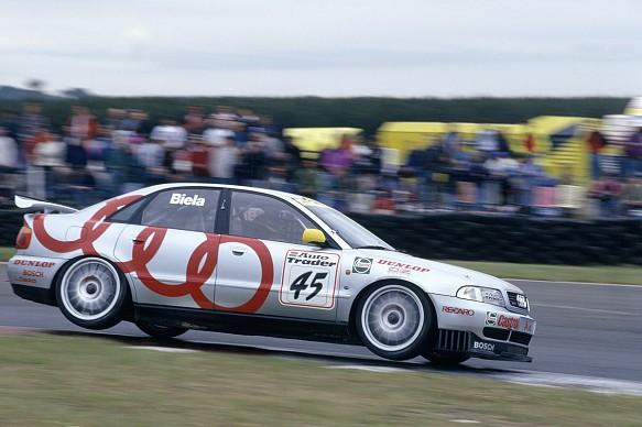 Frank Biela Audi 1996 BTCC