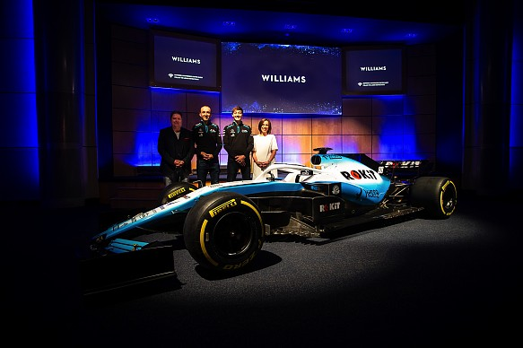 Williams 2019 livery launch