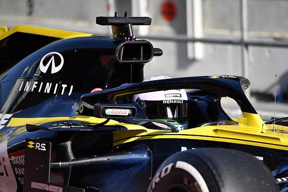 Daniel Ricciardo Renault Barcelona F1 testing 2019