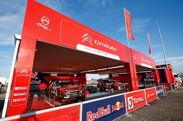 Citroen garage WRC 2019