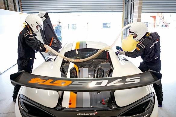 McLaren\'s Pure GT Series Spa 2019