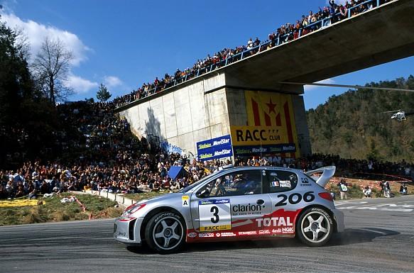 Gilles Panizzi 2002 WRC Rally Catalunya