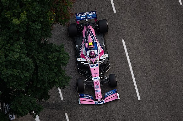 Lance Stroll Racing Point Singapore GP 2019