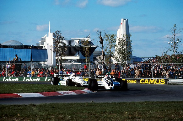 Piquet Jones Canada F1 1980