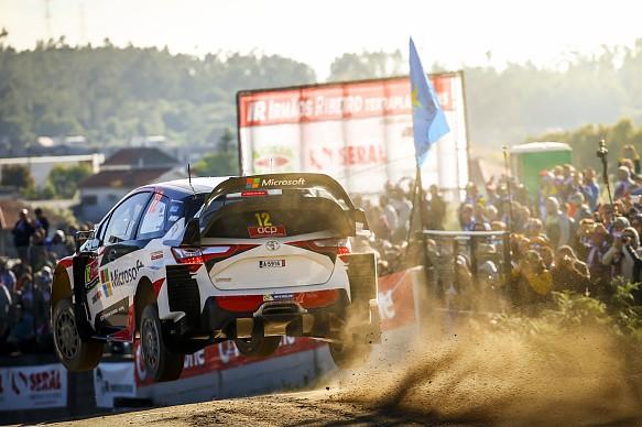 Esapekka Lappi Toyota WRC Rally Portugal 2017