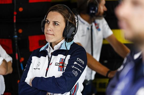 Claire Williams F1 2018