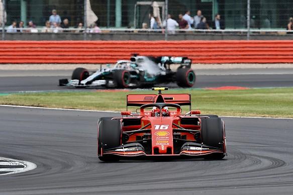 Charles Leclerc Ferrari British Grand Prix 2019