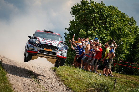 Kajetan Kajetanowicz Rally Poland 2016