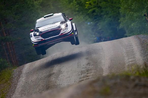 Elfyn Evans DMACK WRC Rally Finland 2017