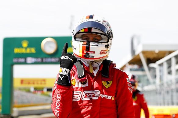 Sebastian Vettel Ferrari Canadian Grand Prix 2019