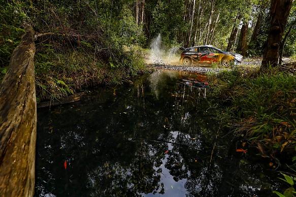 Sebastien Ogier M-Sport Ford WRC Australia 2018