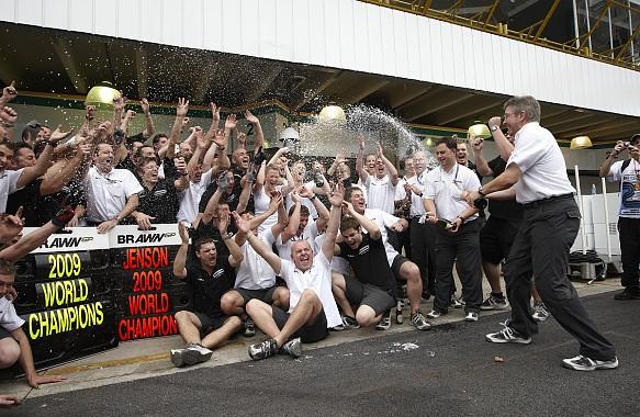 Brawn GP 2009 F1 title