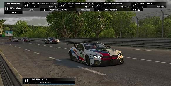 Williams F1 Esports team wins Le Mans race against BMW