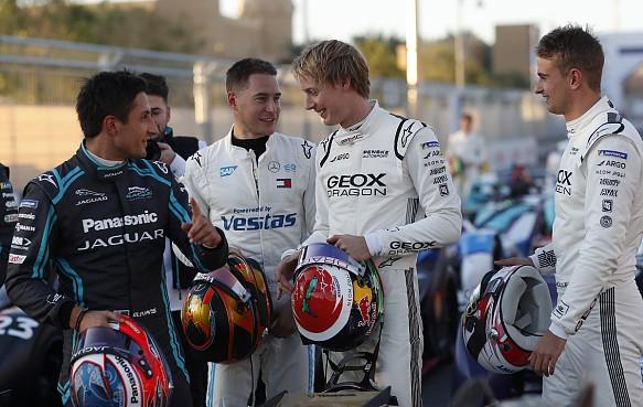Formula E drivers Riyadh 2019