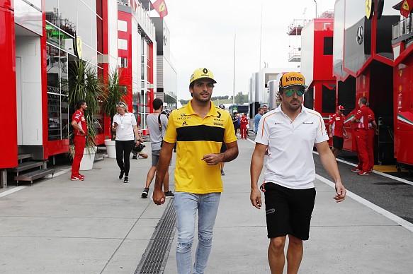 Alonso and Sainz Jr