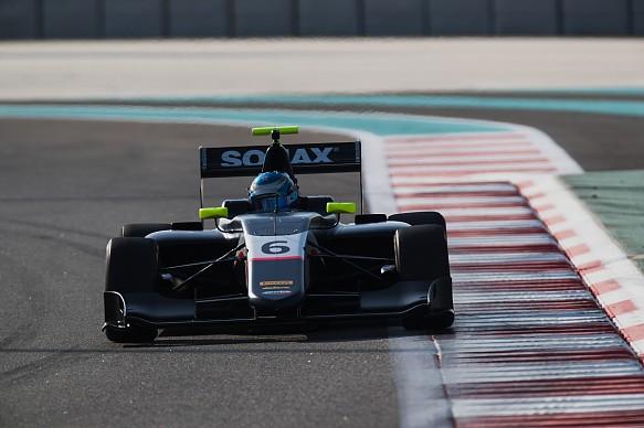 Will Palmer Arden GP3 testing Abu Dhabi 2018