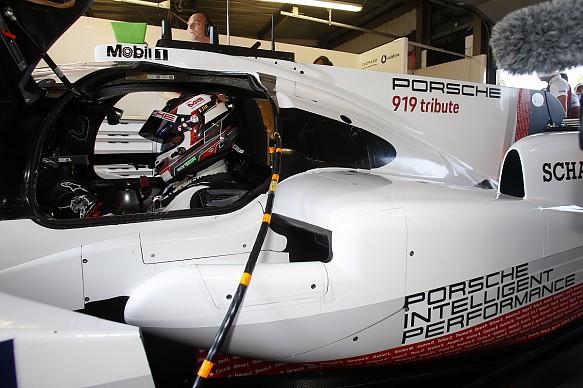 Nick Tandy Porsche 919 Evo Brands Hatch 2018