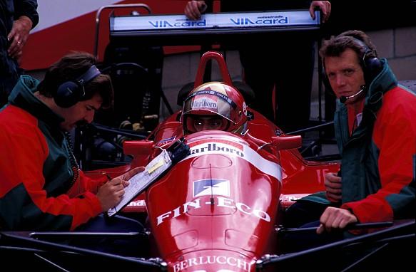 Sergio Rinland, Alex Caffi Scuderia Italia 1988