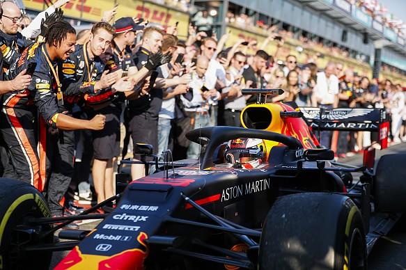 Max Verstappen Red Bull Australian Grand Prix 2019