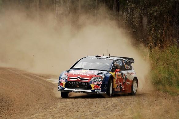 Sebastien Loeb 2009 WRC Rally Australia